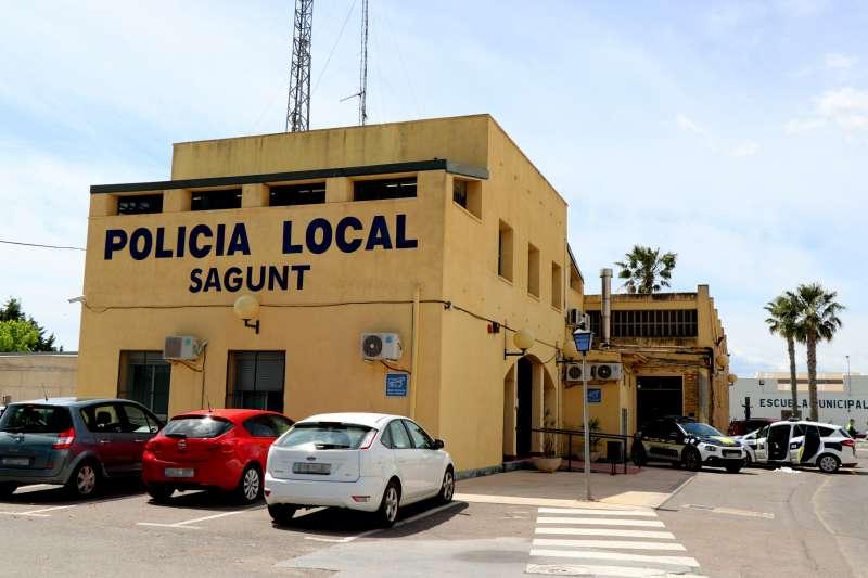 Sede de la Policía Local de Sagunt.