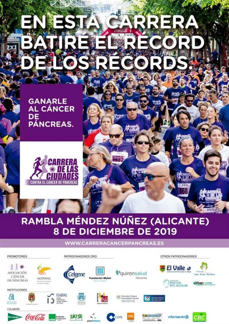 Cartel de la carrera, facilitado por los organizadores. EFE