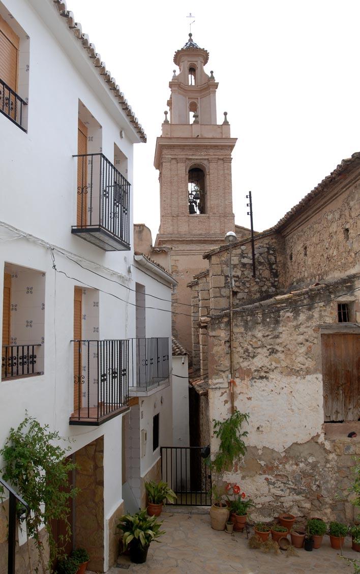 La iglesia de San Sebastián Mártir de Chera. FOTO EPDA