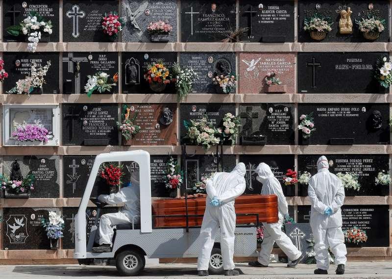 Cementerio en una imagen de archivo. EPDA