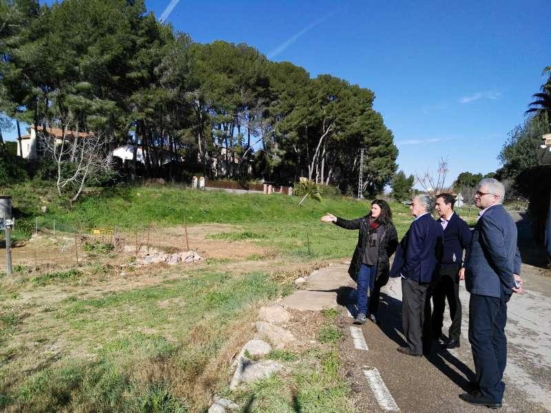 Un momento de la visita al barranco de Mandor.//EPDA