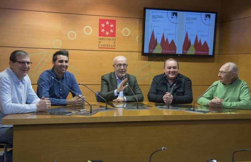 Presentación del trofeo en la Diputación de Castellón