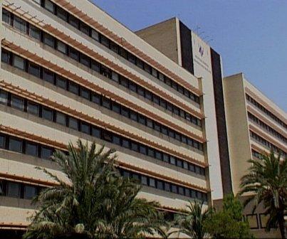 Vista del Hospital General de Elche. FOTO: EPDA.
