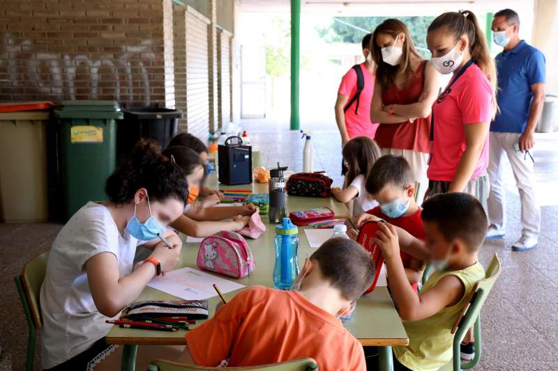 Una actividad infantil en Torrent. EPDA