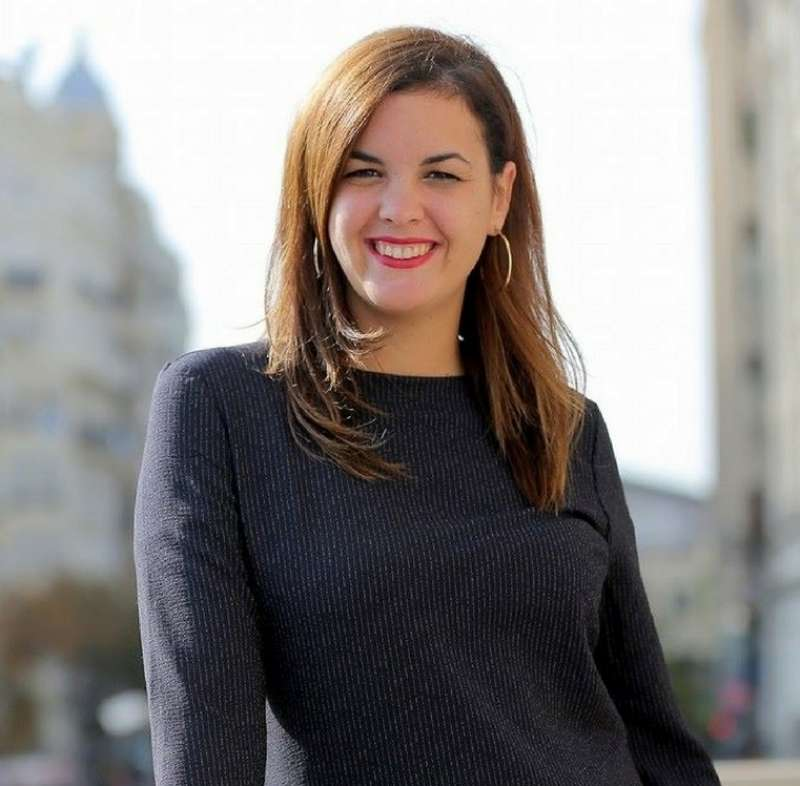 Sandra Gómez, portavoz PSPV. EPDA