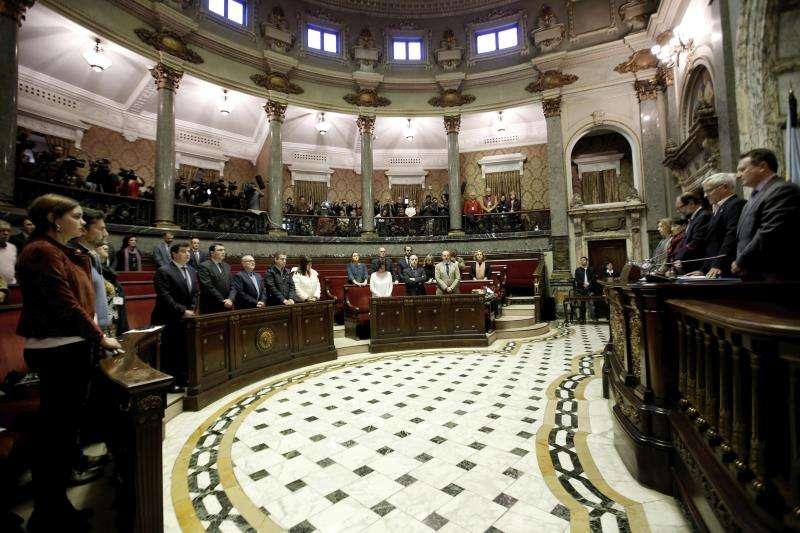 El Ayuntamiento de Valencia reunido en pleno. EFE/Archivo