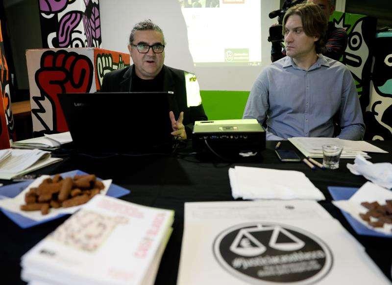 -La Coordinadora Valenciana de ONGD ofrece una rueda de prensa con motivo del inicio el próximo lunes del juicio