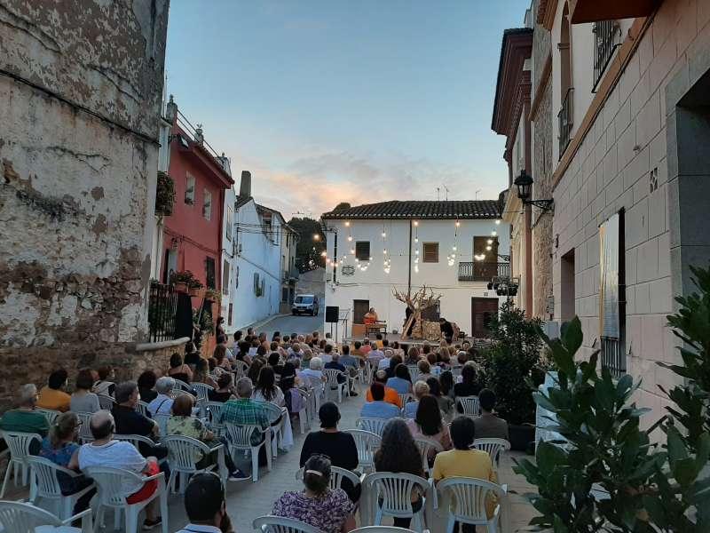 Primera edición del Festival Internacional de Teatro en espacios no convencionales de Macastre./EPDA