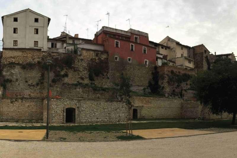 El refugi antiaeri de l?antiga fàbrica de Tortosa i Delgado. EPDA