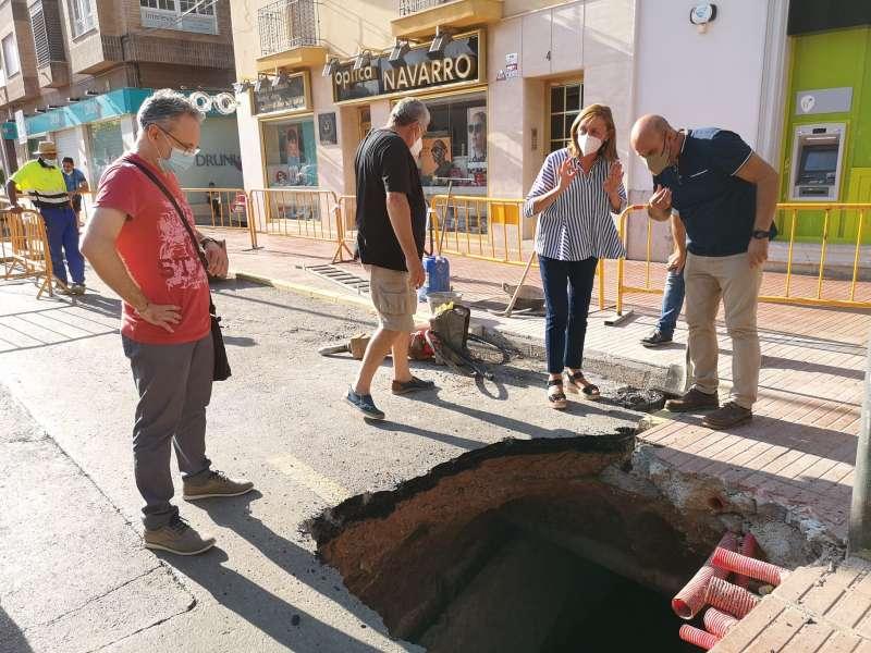 Obras en el municipio. EPDA