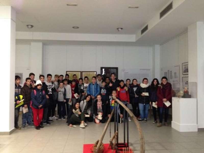 Visita guiada als estudiants. EPDA