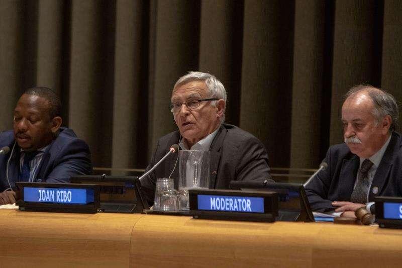 El alcalde Joan Ribó en Naciones Unidas