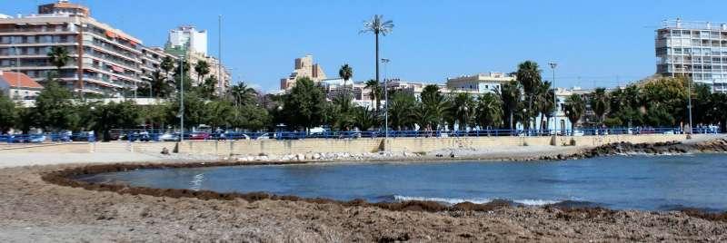 La platja del Postiguet en una imagen de archivo / EPDA