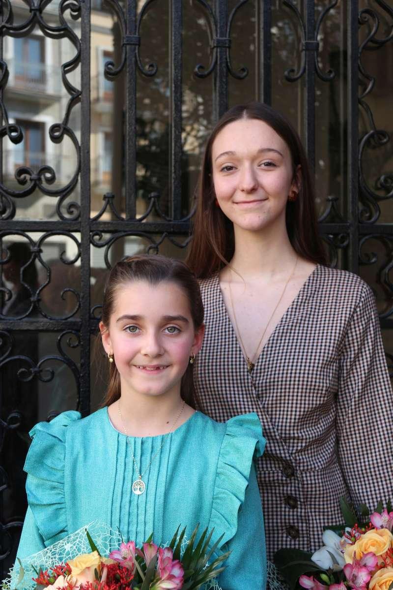 Carmen Gómez y Victoria Moya, reinas 2020