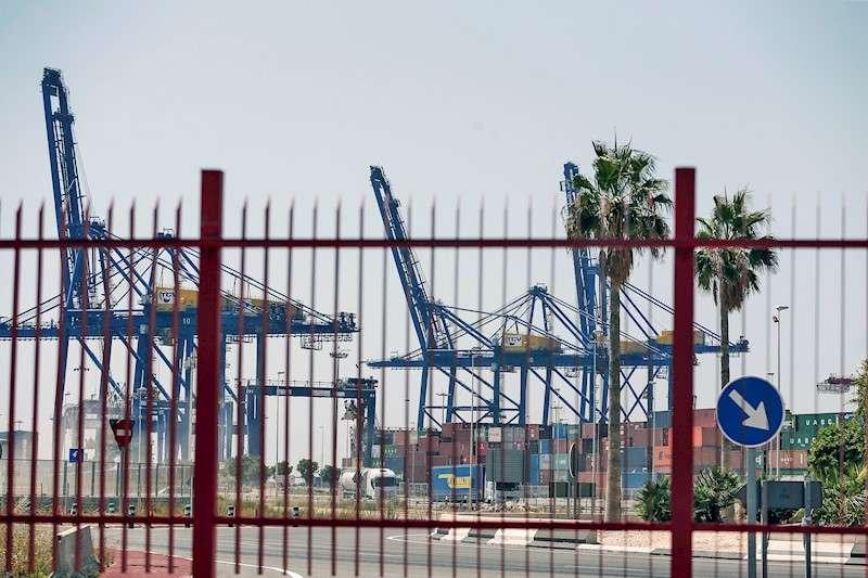 Imagen de las instalaciones del Puerto de València. EFE/Archivo