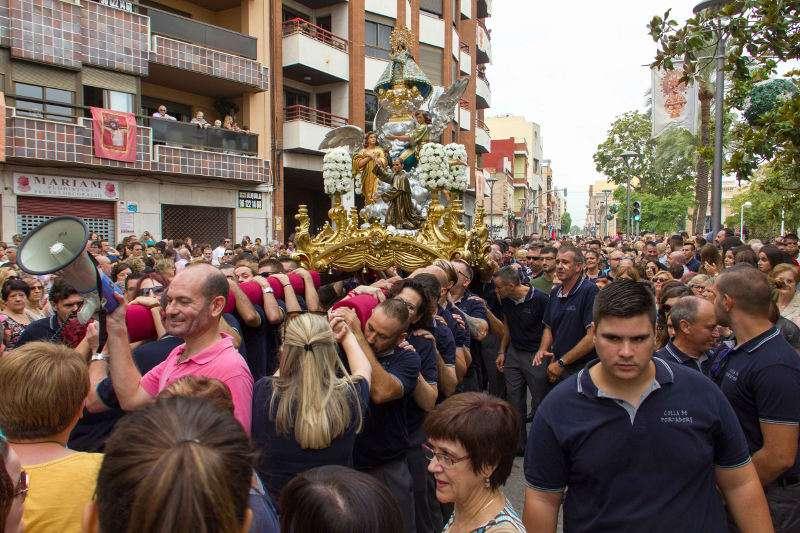 Processó de la Mare de Déu de Vallivana de Picassent. EPDA