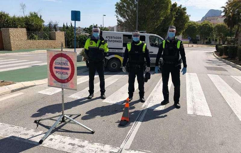 Control policial/EPDA