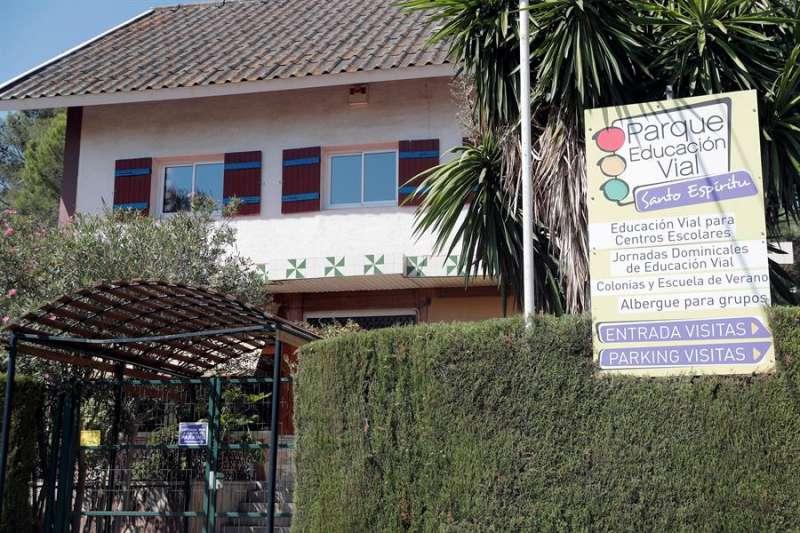 Vista general de la escuela de verano del Parque de Educación Vial de Gilet (Valencia).