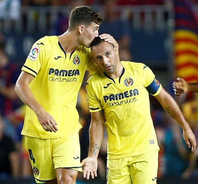 Jugadores del Villarreal. EFE