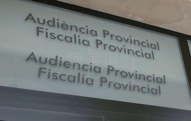 Cartel de la Audiencia Provincial de Alicante. EFE/Archivo