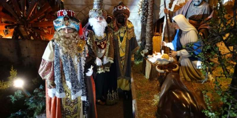 Els Reis Mags a Xàtiva. EPDA