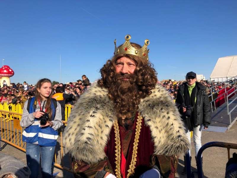 Llegada de los Reyes Magos. EPDA