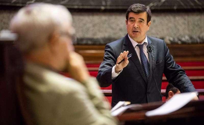El portavoz de Cs, en el Ayuntamiento de Valencia,Fernando Giner. / EPDA