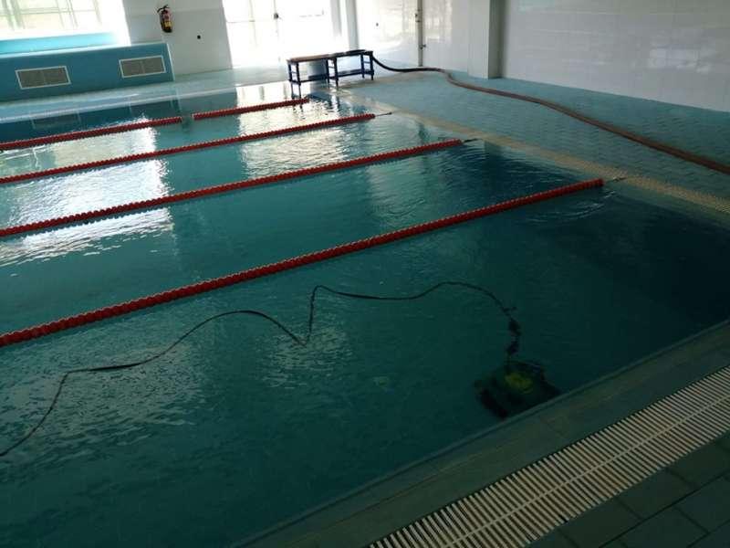 La piscina permanecerá cerrada en el día de hoy