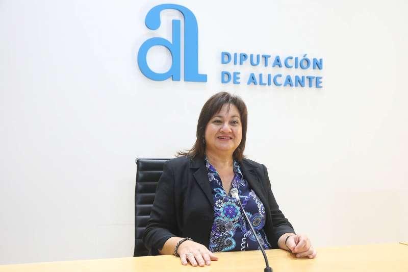 Diputada de Bienestar Social e Igualdad, Mª Carmen Jover / EPDA