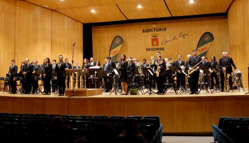 La banda de Segorbe en el Auditorio