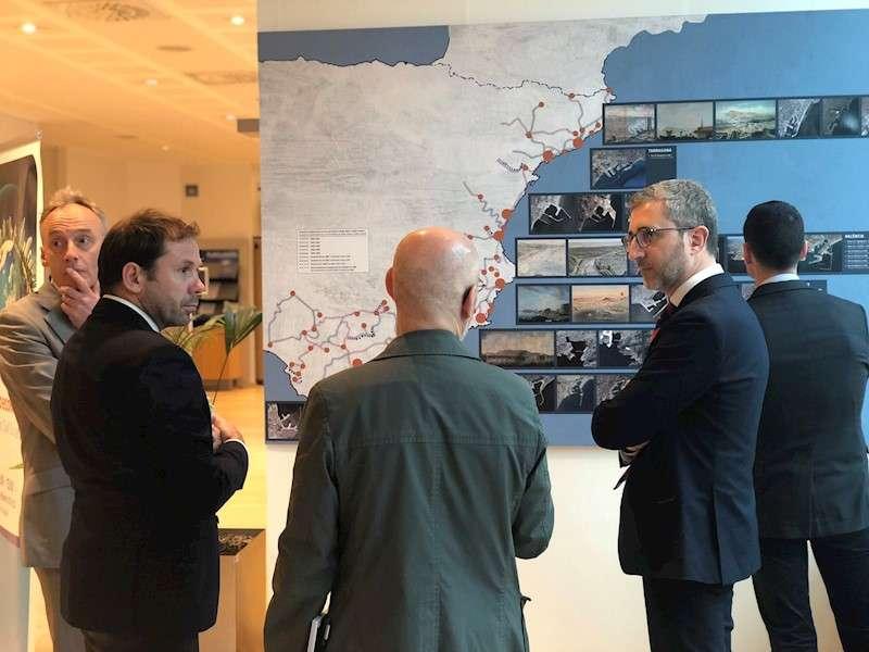 Vista parcial de la exposición en Bruselas, en una imagen de la Generalitat.