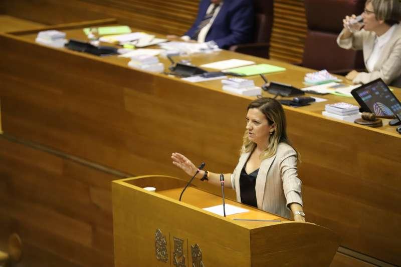 La diputada de Ciudadanos (Cs) en Les Corts valencianas, María Quiles.