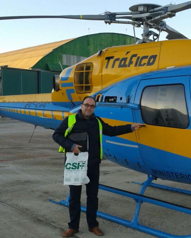 Helicóptero de la DGT Valencia