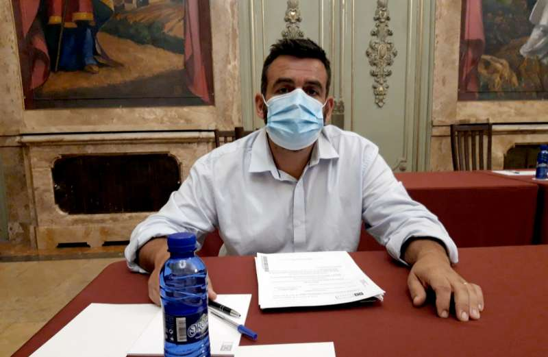 David Vicente, diputado del PP