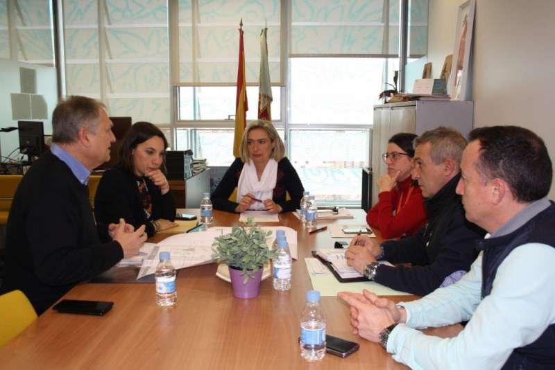 Reunión con la secretaria autonómica de Servicios Sociales y Autonomía Personal, Elena Ferrando