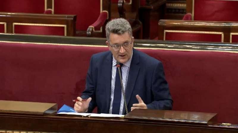 Vicente Martínez en el Senado
