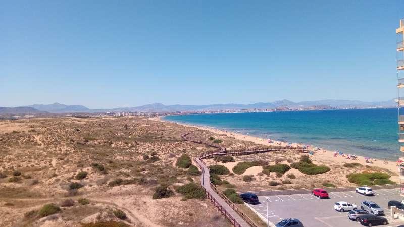 Playa de Elche. EPDA