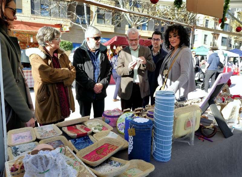 Visita a una de las actividades comerciales de Alboraya. EPDA