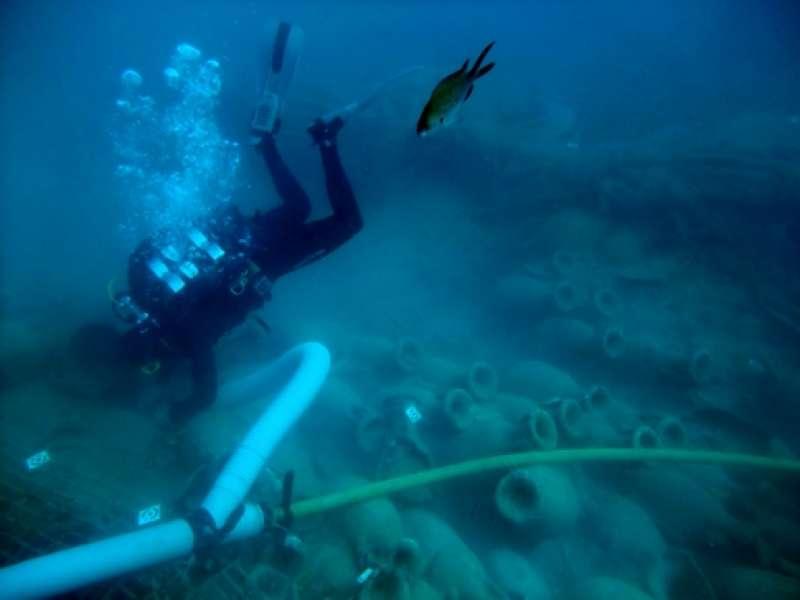 Jaciment arqueològic subaquàtic.