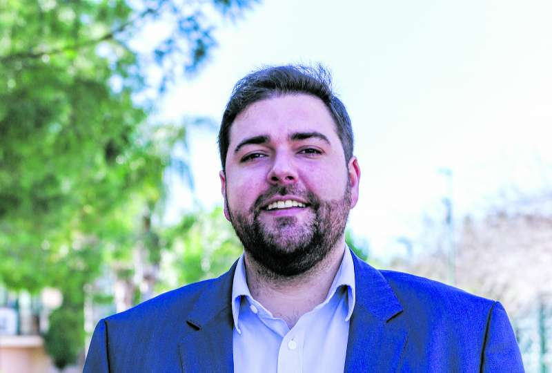 El candidato socialista en Rafelbunyol. EPDA