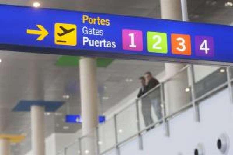 El aeropuerto de Castellón ha superado los 500.000 pasajeros desde su apertura. EFE
