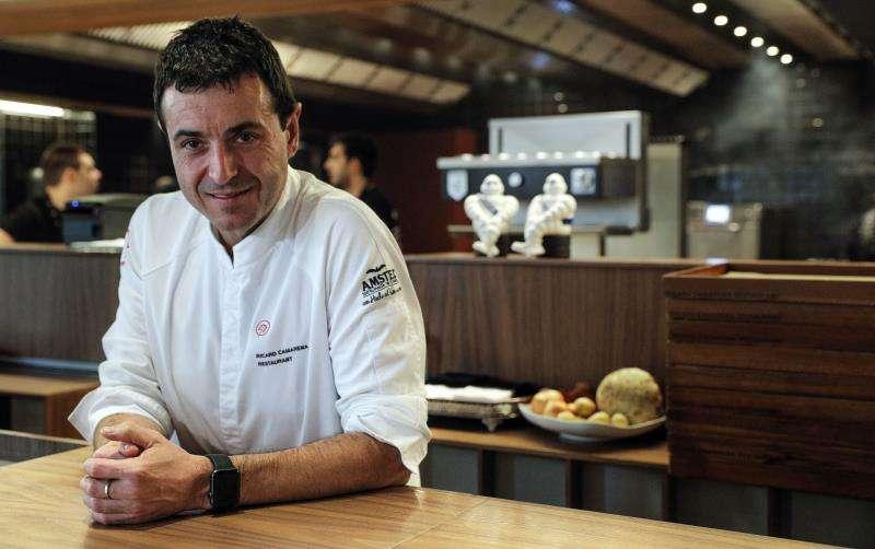 El cocinero Ricard Camarena, en una imagen reciente. EFE