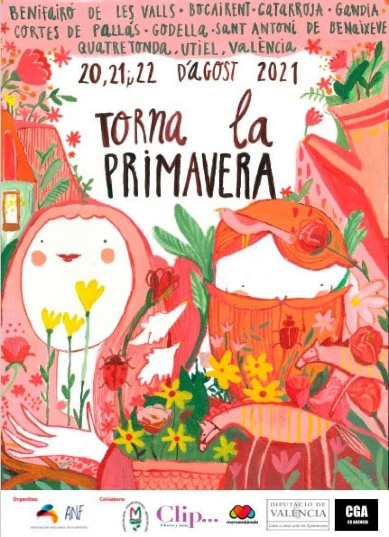 Cartell de Torna la Primavera II. EPDA