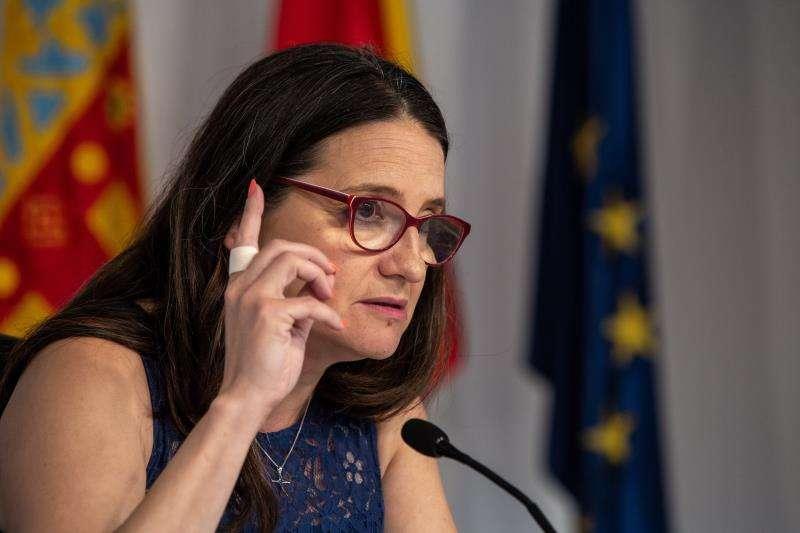 Mónica Oltra. EFE/Aliño/Archivo