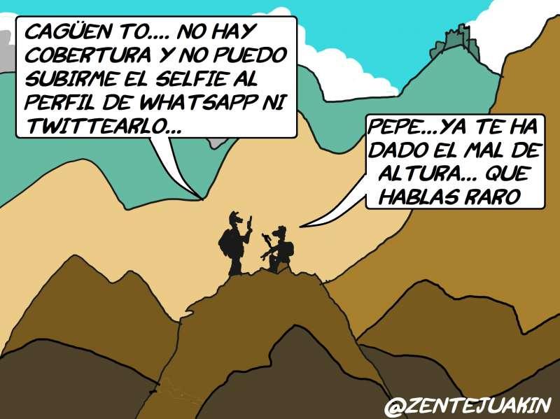 Viñeta publicada en ElPeriodicodeAqui.com
