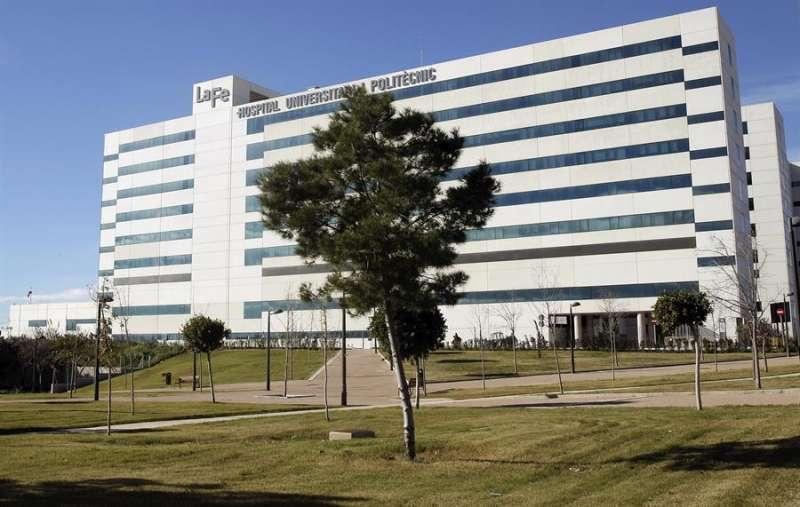 Imagen del Hospital La Fe de València. EFE