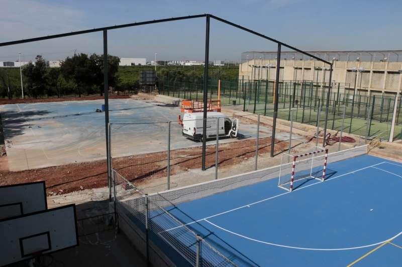 Imagen de archivo del polideportivo de Puçol