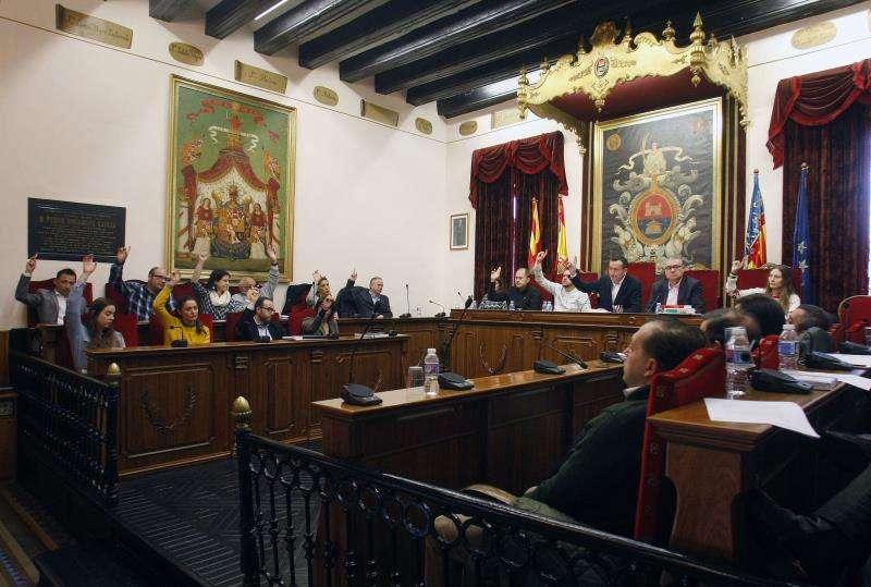 Pleno del Ayuntamiento de Elche en la legislatura que ha acabado. EFE/Archivo