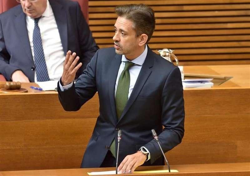 El vicesecretario regional del PP de la Comunitat Valenciana (PPCV), José Juan Zaplana, en una foto remitida por el partido.