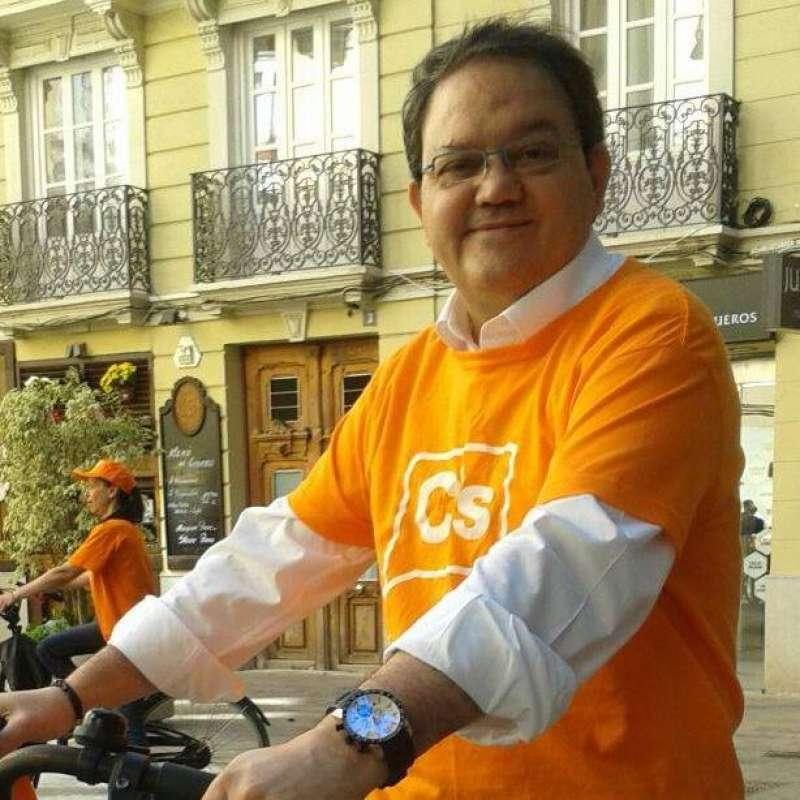 Delegado de Acción Institucional de València de Ciudadanos, José Cruz